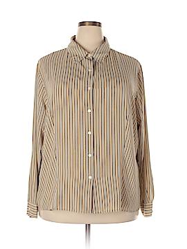 Covington Outlet Long Sleeve Blouse Size 24W (Plus)
