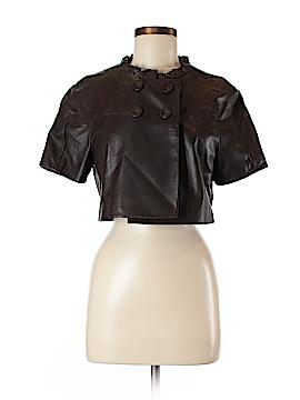 BCBGMAXAZRIA Leather Jacket Size M
