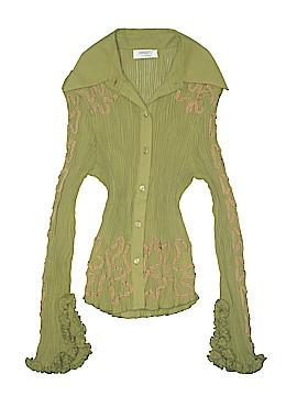 Dress-U By Sharon Long Sleeve Blouse Size M