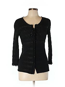 Black Orchid Denim Cardigan Size L