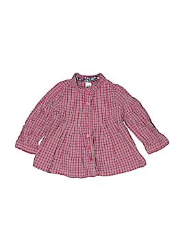 Baby Gap Long Sleeve Button-Down Shirt Size 6-12 mo