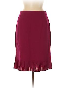Albert Nipon Wool Skirt Size 6