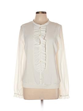 Patrizia Pepe Long Sleeve Blouse Size 42 (EU)