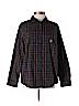 Practically New Size 1X Lauren by Ralph Lauren Long Sleeve Button-down Shirt for Women