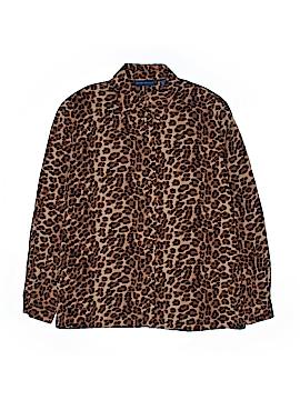Karen Scott Long Sleeve Blouse Size M
