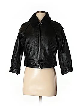 Yigal Azrouël New York Leather Jacket Size 6