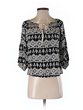En Creme 3/4 Sleeve Blouse Size S