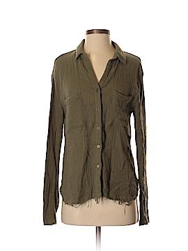 Lulu's Long Sleeve Button-Down Shirt Size S