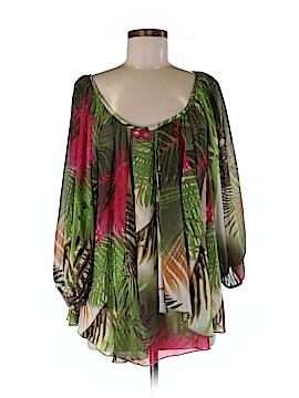 Linea Domani 3/4 Sleeve Blouse Size M