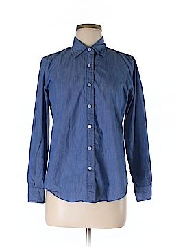 DKNY Long Sleeve Button-Down Shirt Size 4