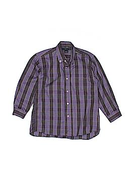 Oscar De La Renta Long Sleeve Button-Down Shirt Size 4