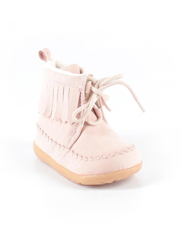 Hm Solid Light Pink Boots Size 2 3 12 Kids 84 Off Thredup