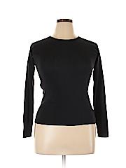 Linda Allard Ellen Tracy Women Silk Pullover Sweater Size M