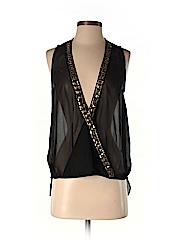 Tildon Women Sleeveless Blouse Size S