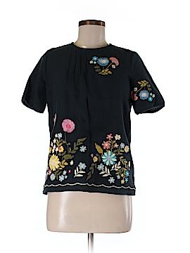Cynthia Rowley Short Sleeve Top Size M