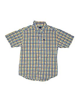 Nautica Short Sleeve Button-Down Shirt Size 8/10
