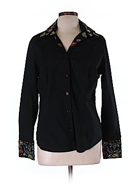 Bay Studio Long Sleeve Button-Down Shirt Size L