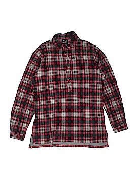 Knapp Studio Long Sleeve Button-Down Shirt Size M