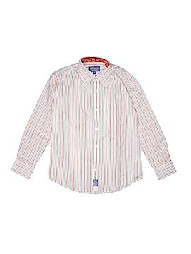 Ciamarco Long Sleeve Button-Down Shirt Size 8