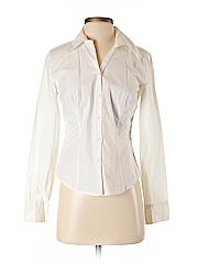 Ann Taylor LOFT Women Long Sleeve Button-Down Shirt Size 4