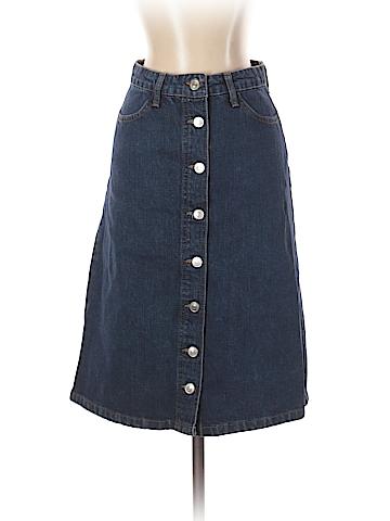 Topshop Denim Skirt 26 Waist
