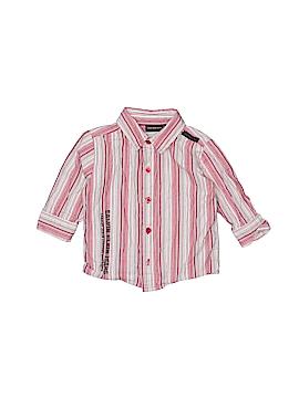 CALVIN KLEIN JEANS Long Sleeve Button-Down Shirt Size 12 mo