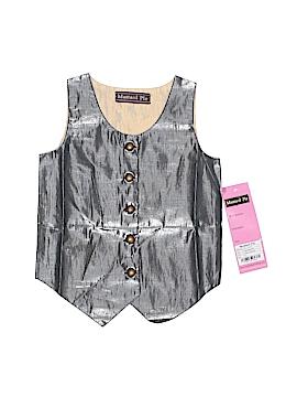 Mud Pie Tuxedo Vest Size S (Kids)