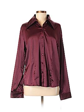 DG^2 by Diane Gilman Long Sleeve Blouse Size L