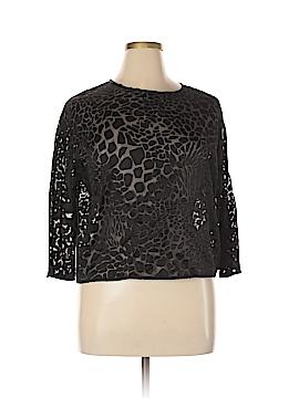 Veronika Maine Long Sleeve Blouse Size 14
