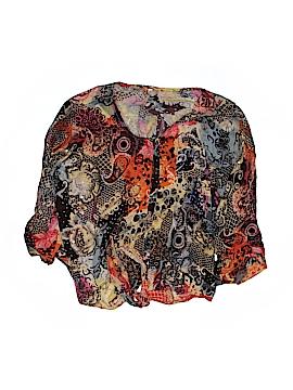PASSPORTS 3/4 Sleeve Blouse Size M