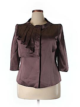 Escada 3/4 Sleeve Silk Top One Size