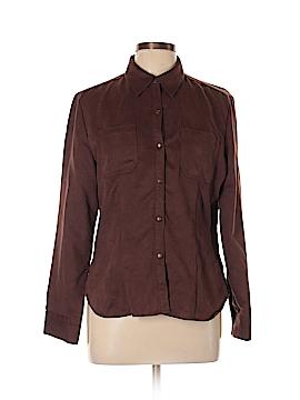 Jones Wear Long Sleeve Button-Down Shirt Size 10