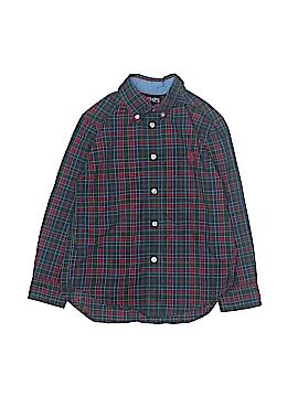 Chaps Long Sleeve Button-Down Shirt Size 5T