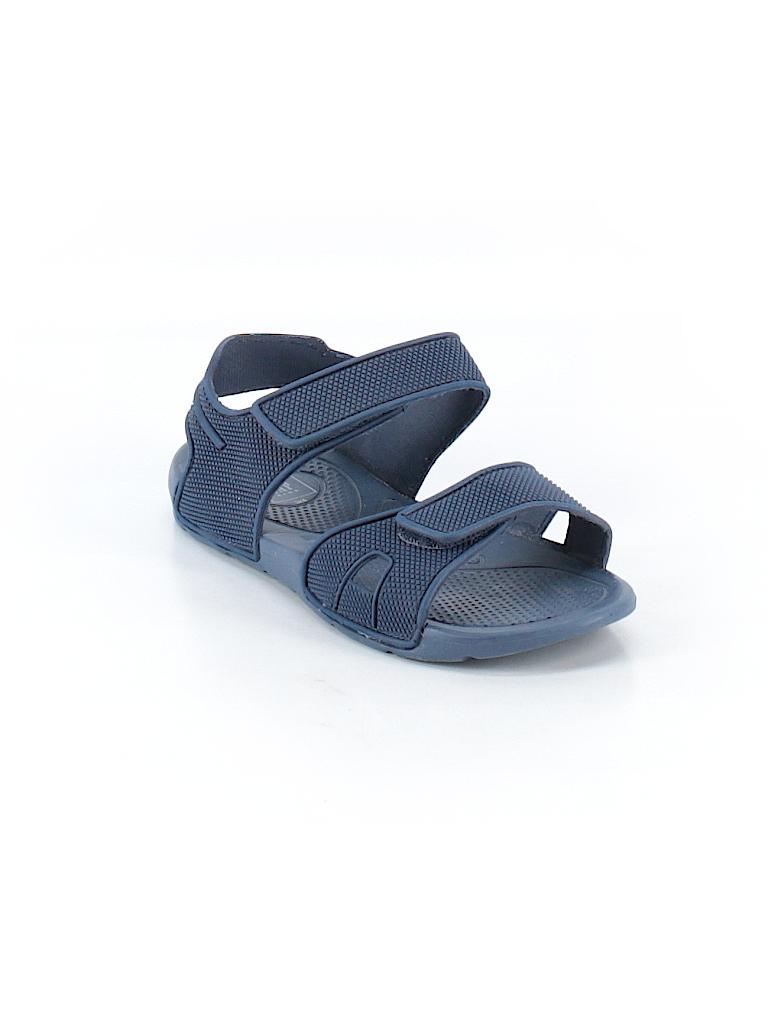 44b5c93d2035c Gap Kids Solid Navy Blue Sandals Size 3 - 60% off