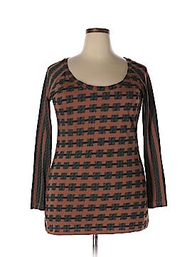 Norma Kamali Long Sleeve T-Shirt Size XL