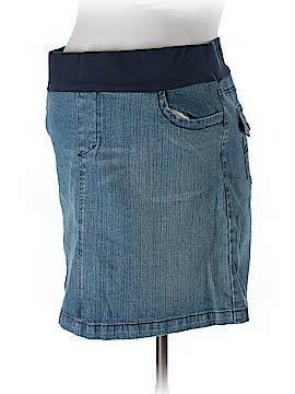 Motherhood Denim Skirt Size L (Maternity)