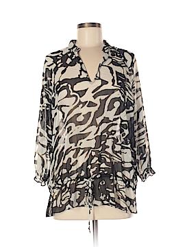 AK Anne Klein 3/4 Sleeve Blouse Size L