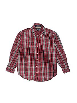 IZOD Long Sleeve Button-Down Shirt Size 8