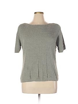 DressBarn Short Sleeve Silk Top Size 14 - 16