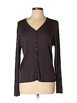 Chaus Silk Cardigan Size L