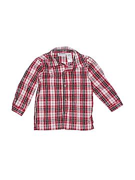 Blueberi Boulevard Long Sleeve Button-Down Shirt Size 2T