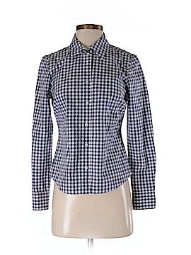 Boden Long Sleeve Button-Down Shirt Size 2 (Petite)