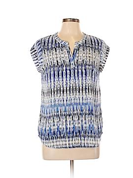 Hilary Radley Short Sleeve Blouse Size S