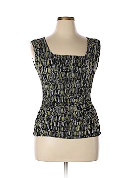 Classiques Entier Short Sleeve Silk Top Size L