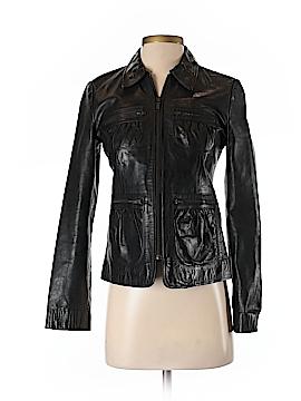 Banana Republic Leather Jacket Size 0