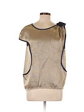 Tufi Duek Short Sleeve Blouse Size 8