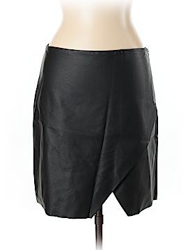 Club Monaco Faux Leather Skirt Size 10