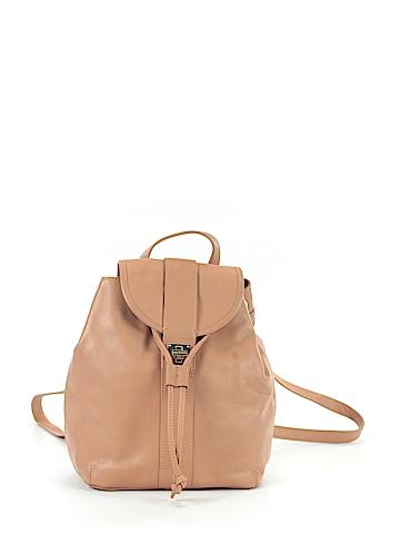 Isaac Mizrahi Leather Backpack One Size