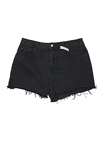 Topshop Denim Shorts Size 16