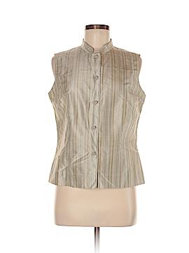 Amanda Smith Sleeveless Silk Top Size M